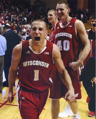 Ben Brust Wisconsin Badgers LIMITED STOCK 8X10 Photo