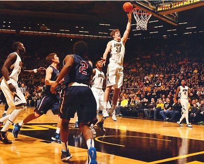 Adam Woodbury Iowa Hawkeyes LIMITED STOCK 8X10 Photo