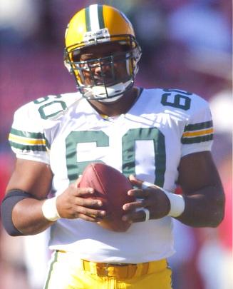 Rob Davis Green Bay Packers 8X10 Photo