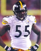 Joey Porter Pittsburgh Steelers Slight Corner Crease SUPER SALE 8x10 Photo