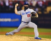 Brian Wilson LA Dodgers LIMITED STOCK Satin 8X10 Photo