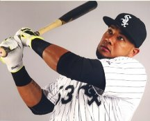 Melky Cabrera Chicago White Sox LIMITED STOCK Satin 8X10 Photo