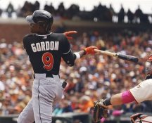 Dee Gordon Florida Marlins LIMITED STOCK Satin 8X10 Photo