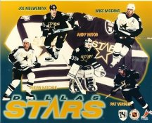 Pat Verbeek, Derian Hatcher, Joe Nieuwendyk, Andy Moog & Mike Modano Dallas Stars 8x10 Photo