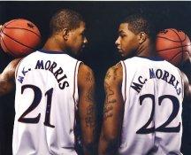 Marcus Morris & Markieff Morris Kansas/ LA Clippers / Detroit Pistons Satin 8X10 Photo