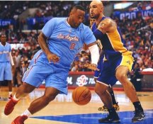 Glen Davis LA Clippers Satin 8X10 Photo