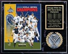 Chicago White Sox 2005 World Series Team Plaque