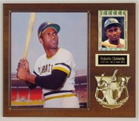 Roberto Clemente Classic 1970's Photo Plaque