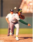 Dennis Eckersley LIMITED STOCK Oakland Athletics 8X10 Photo