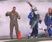 Santonio Holmes New York Jets Satin 8X10 Photo