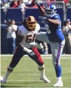 Fred Robbins New York Giants 8X10 Photo