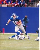 Dave Campbell New York Giants 8X10 Photo