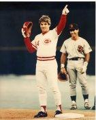 Pete Rose 4192 Hits Cincinnati Reds 8X10 Photo