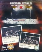 Foxboro Final Game January 19, 2002 New England Patriots Numbered Limited 8X10 Photo