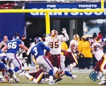Bruce Smith Sacks Jesse Palmer for 199th Sack All Time NFL Record Dec. 7, 2003 Limited Edition of 25 Washington 8x10 Photo