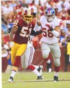 Mark Herzlich New York Giants 8X10 Photo