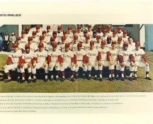 Phillies 1970 Philadelphia Phillies Team LIMITED STOCK 8x10 Photo