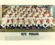 Phillies 1972 Philadelphia Phillies Team LIMITED STOCK 8x10 Photo