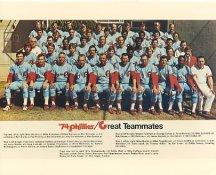 Phillies 1974 Philadelphia Phillies Team LIMITED STOCK 8x10 Photo
