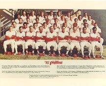Phillies 1975 Philadelphia Phillies Team LIMITED STOCK 8x10 Photo