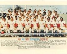 Phillies 1976 Philadelphia Phillies Team LIMITED STOCK 8x10 Photo