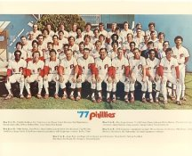 Phillies 1977 Philadelphia Phillies Team LIMITED STOCK 8x10 Photo