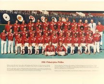 Phillies 1981 Philadelphia Phillies Team LIMITED STOCK 8x10 Photo