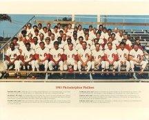 Phillies 1983 Philadelphia Phillies Team LIMITED STOCK 8x10 Photo