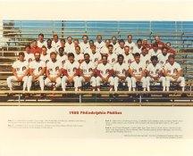 Phillies 1985 Philadelphia Phillies Team LIMITED STOCK 8x10 Photo
