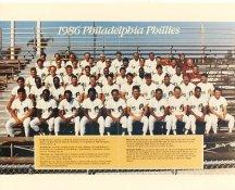 Phillies 1986 Philadelphia Phillies Team LIMITED STOCK 8x10 Photo