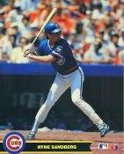 Ryne Sandberg Chicago Cubs Glossy Card Stock 8X10 Photo