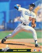 Orel Hershiser LA Dodgers Glossy Card Stock 8X10 Photo