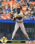 Barry Bonds Pittsburgh Pirates Glossy Card Stock 8X10 Photo