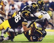 Cole Fisher Iowa Hawkeyes LIMITED STOCK Satin 8x10 Photo