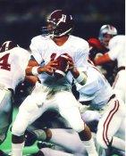 Mike Shula Alabama Crimson Tide LIMITED STOCK Satin 8x10 Photo