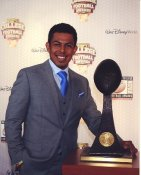 Roberto Aguayo with The Lou Groza Award Florida State LIMITED STOCK Satin 8x10 Photo