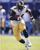 Marshall Faulk St Louis Rams LIMITED STOCK Satin 8x10 Photo