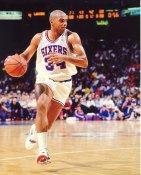 Charles Barkley Philadelphia 76ers LIMITED STOCK Satin 8X10 Photo