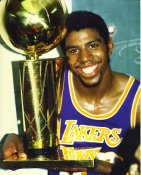 Magic Johnson LA Lakers LIMITED STOCK Satin 8X10 Photo