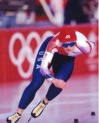 Bonnie Blair Speed Skater LIMITED STOCK Satin 8X10 Photo