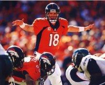 Peyton Manning Denver Broncos LIMITED STOCK Satin 8X10 Photo