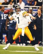 Ben Roethlisberger Pittsburgh Steelers LIMITED STOCK Satin 8x10 Photo