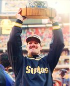 Bill Cowher Pittsburgh Steelers LIMITED STOCK Satin 8x10 Photo