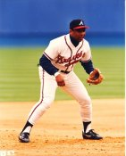 Rafael Belliard Atlanta Braves LIMITED STOCK 8X10 Photo
