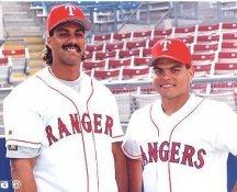 Ivan Rodriguez & Tony Gonzalez Texas Rangers LIMITED STOCK 8X10 Photo