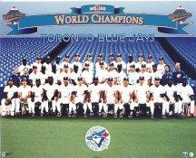 Toronto Blue Jays 1992-1993 World Champions Back 2 Back LIMITED STOCK 8X10 Photo