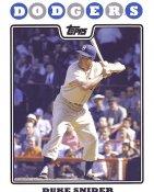 Duke Snider Brooklyn Dodgers  8X10 Photo LIMITED STOCK