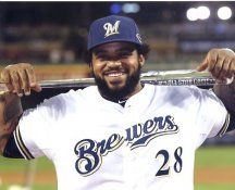 Cecil Fielder Milwaukee Brewers 8X10 Photo LIMITED STOCK