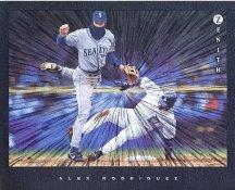 Alex Rodriguez Texas Rangers Zenith Pinnacle Card 8X10 Photo LIMITED STOCK