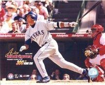 Alex Rodriguez Texas Rangers April 2, 2003 - 300th Home Run 8X10 Photo LIMITED STOCK